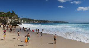 Foto Pantai Dreamland Bali - Dewata ID