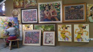 Lukisan Asana Artseum Bali Dewata ID