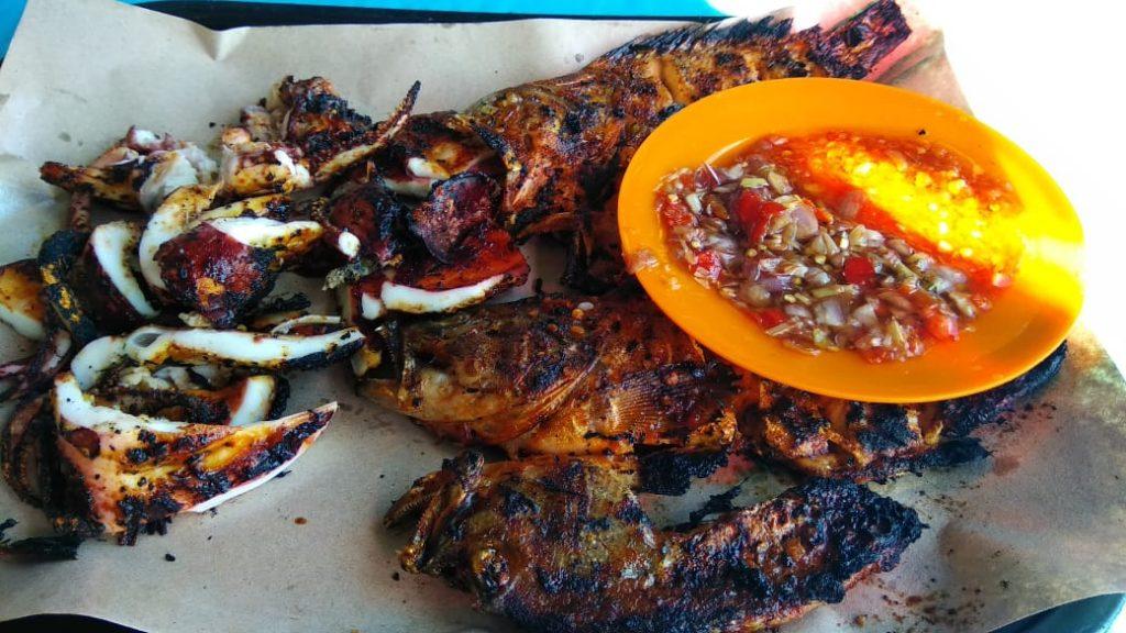 Kuliner Seafood Pantai Kedonganan