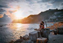 Pantai Melasti Tidak Kalah Indah Sunset Sore Hari - Dewata ID