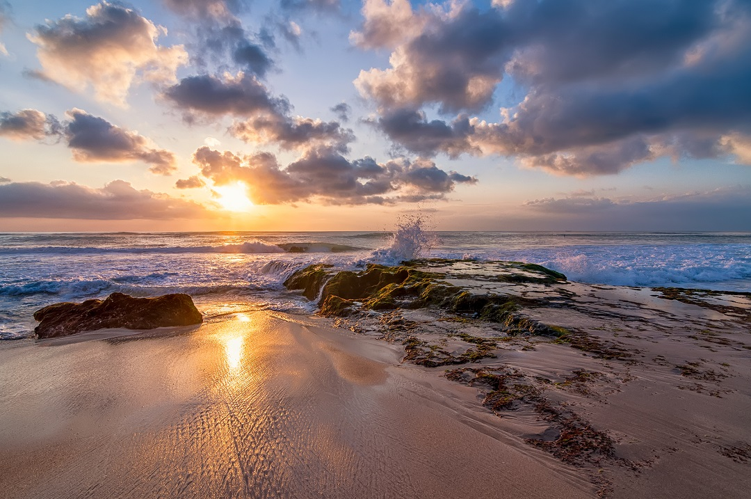 Sunset Pantai Dream Land Bagus Bali - Dewata ID