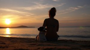 Sunset Pantai Jimbaran Bali bagus - Dewata ID