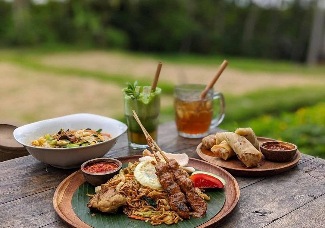 Menu Green Kubu Ubud Tegalalang Kuliner - Dewata ID