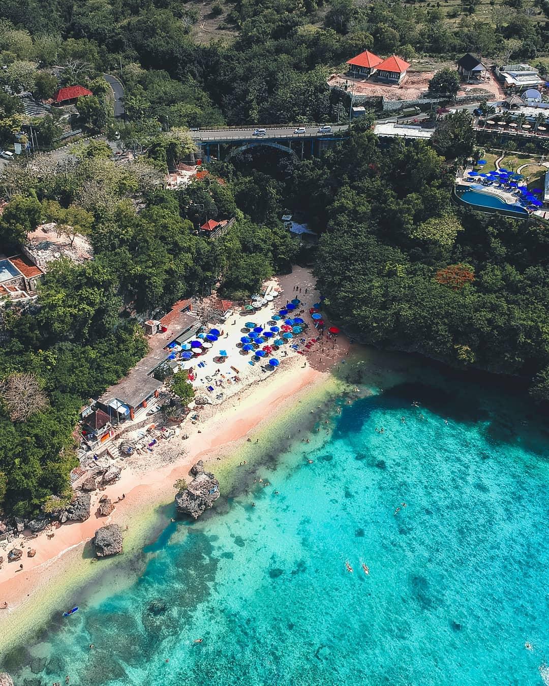 Pantai Labuan Sait Pecatu Bali Drone View - Dewata ID