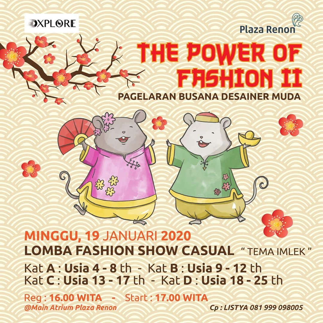 Lomba Fashion Plaza Renon Januari