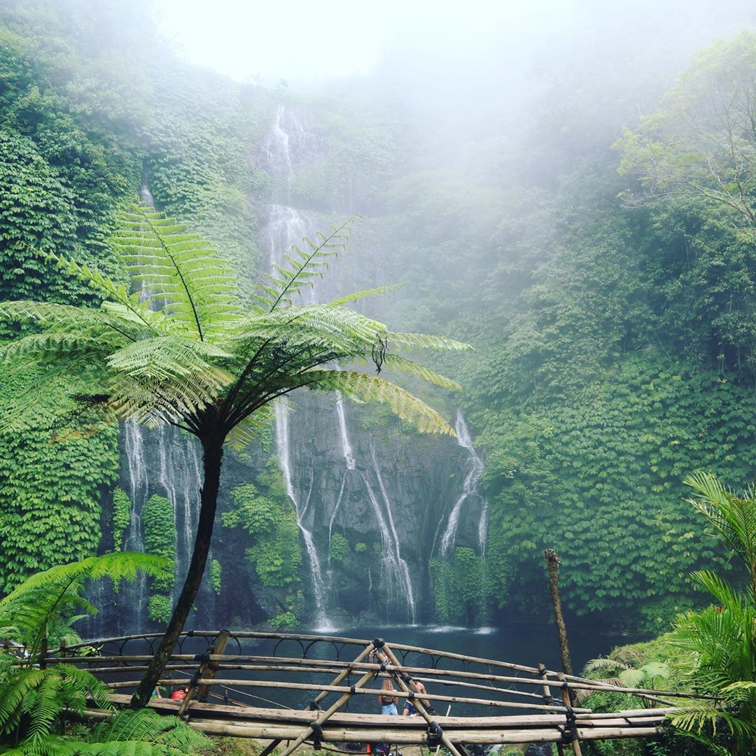 Banyumala Twin Waterfall Kabupaten Buleleng Bali Indonesia - Dewata ID