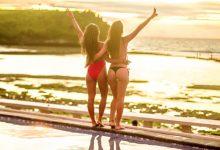 Pemandangan Sunset Pantai Balangan Bali - Dewata ID