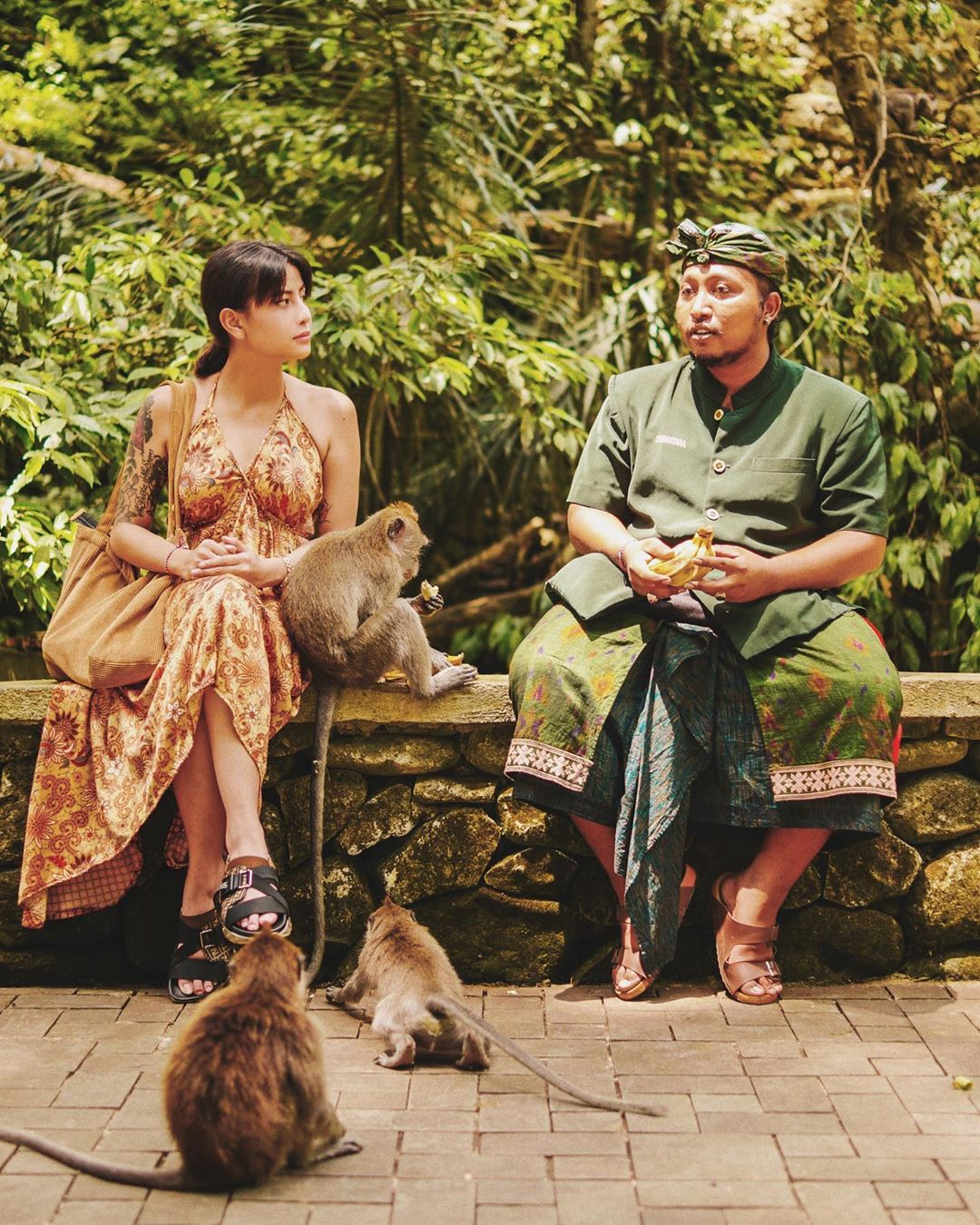 Sejarah Monkey Forest Ubud Bali Kelana Karin Awkarin - Dewata ID