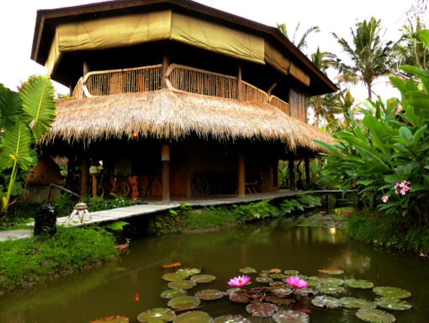 Suasana Luar Dragonfly Village Cafe Ubud Bali - Dewata ID