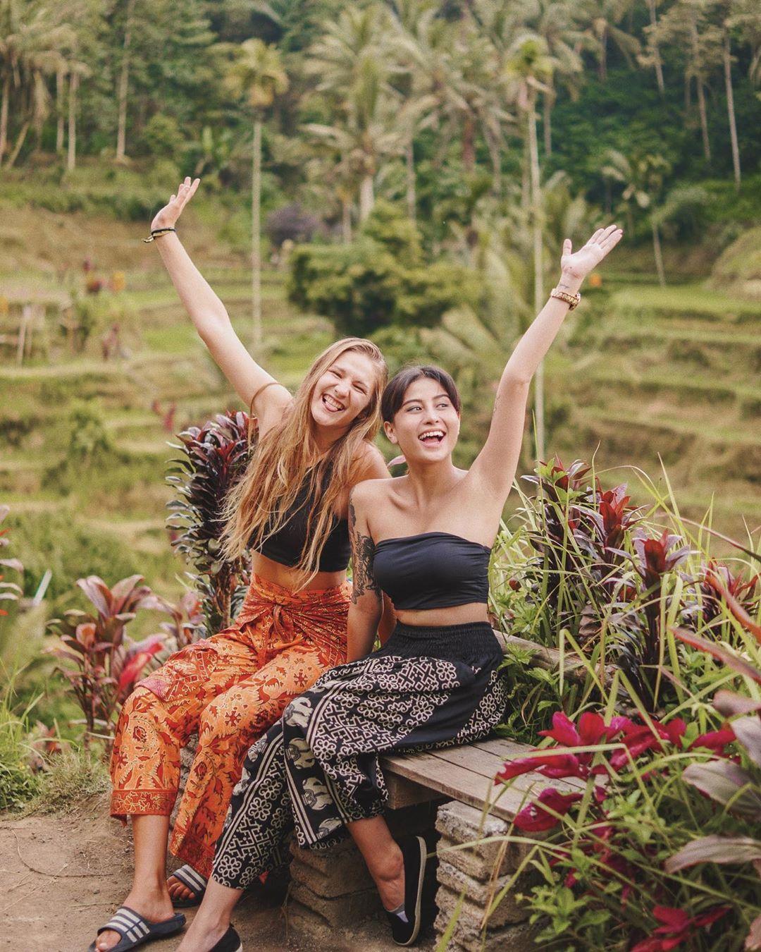 Tegallalang Rice Terrace Bali Awkarin - Dewata ID