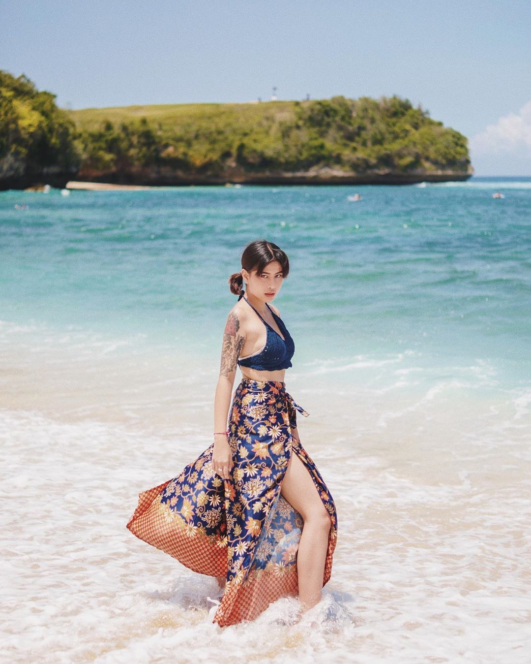 Wisata Pantai Balangan Bali Pilihan Awkarin - Dewata ID