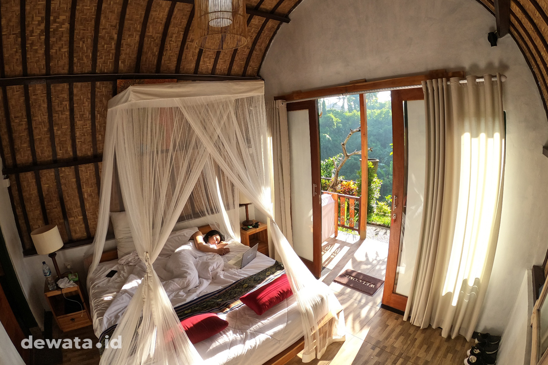 Kamar River View House Cottage Ubud Dewata ID