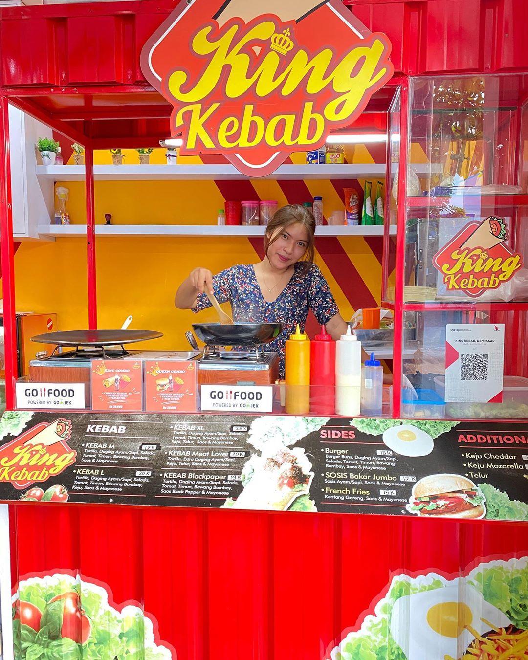 Harga Menu King Kebab Denpasar