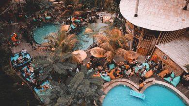 Lokasi Kolam Renang Dtukad River Club Bali