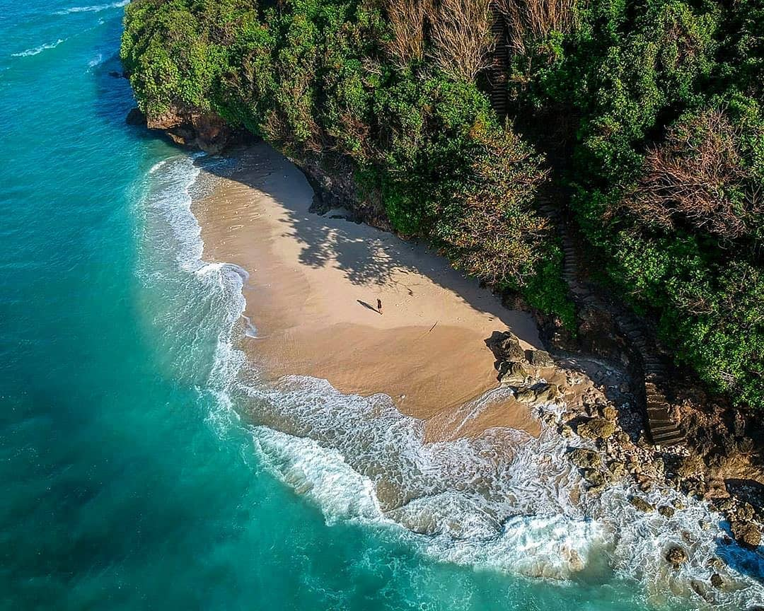Pantai Green Bowl Bali Tersembunyi - Dewata ID