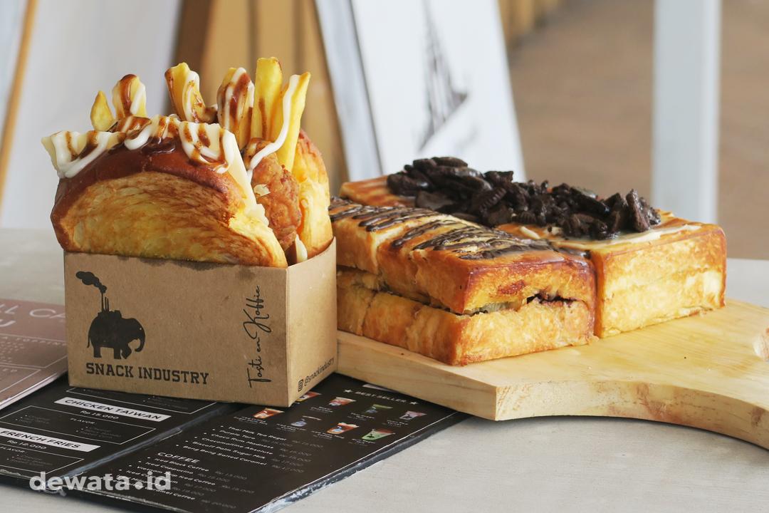 Snack Industry Denpasar Roti Panggang Dewata ID
