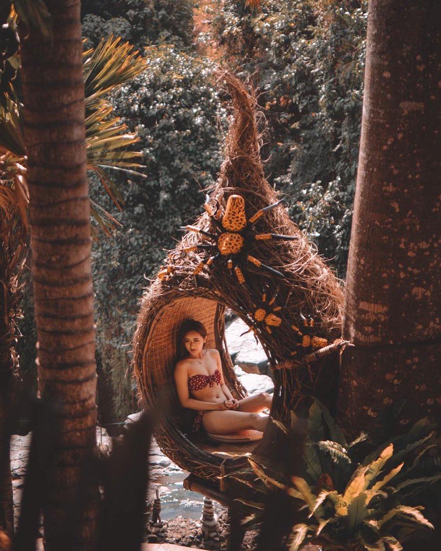 Spot Foto Dtukad River Club Bali