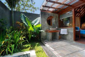 Kamar Mandi Litus Bingin Uluwatu Bali Hotel