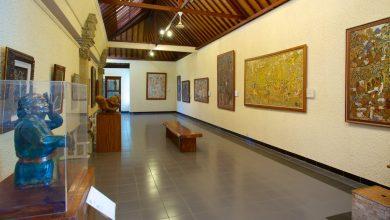 Koleksi Lukisan Museum Puri Tertua di Ubud Bali