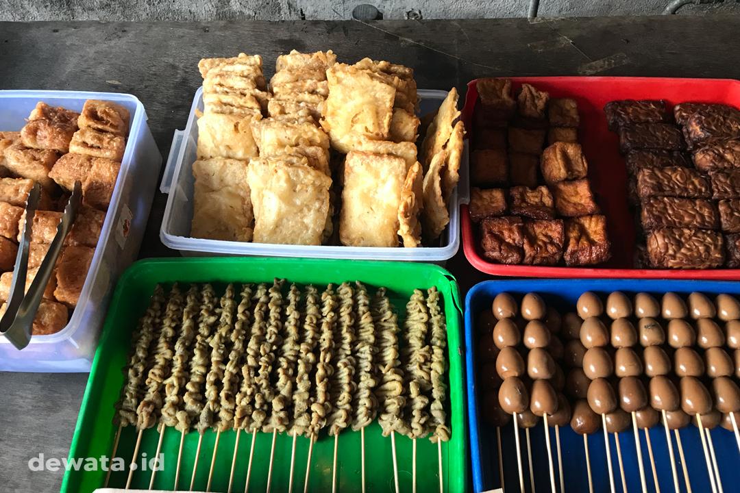 Menu Angkringan Solo Gunung Payung Denpasar
