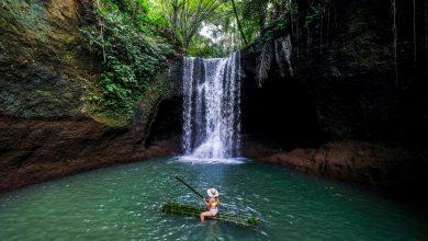 Suwat Waterfall Air Terjun yang masih sepi di Gianyar Bali