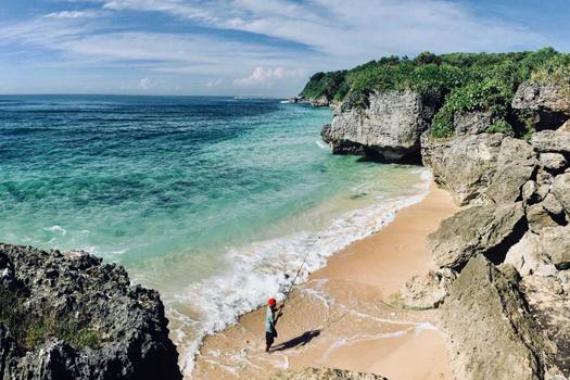 Pantai Geger Bali Selatan Nusa Dua