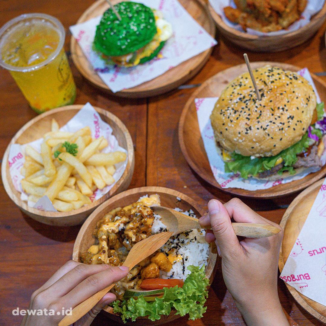 Harga Menu Burgosaurus Burger Denpasar