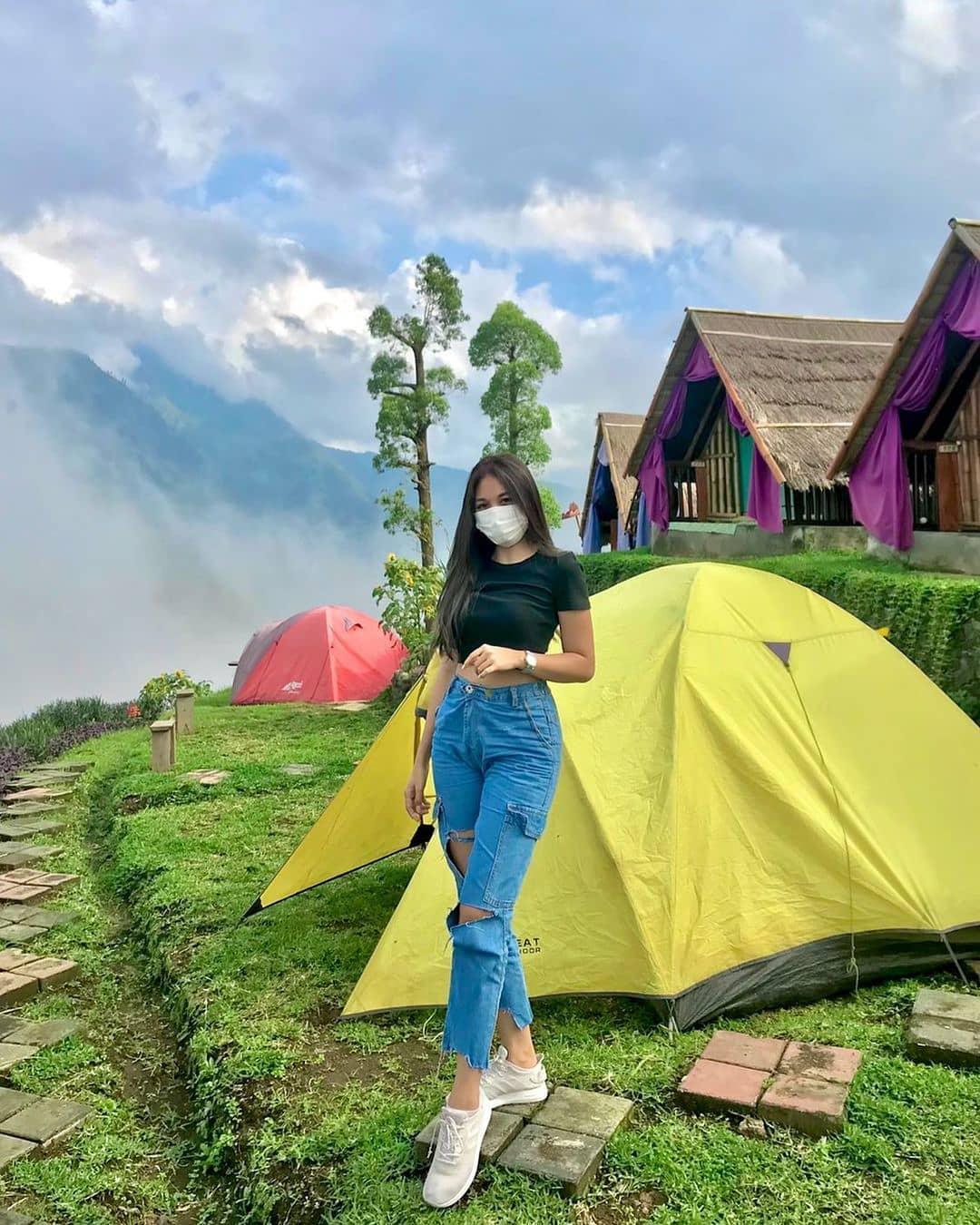 Pemandangan Alengkong Bali Camp